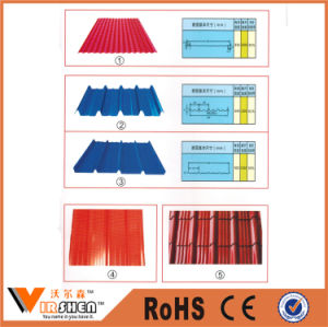 China Supplier Color Coated Roofing Steel Sheet Corrugated Gi PPGI pictures & photos