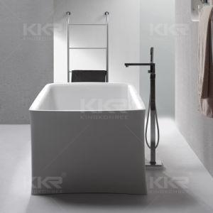Dubai Hot Selling Artificial Stone Acrylic Bathtub pictures & photos