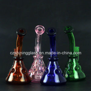 Swiss Design Colorful Glass Water Tobacco Pipe Oil Rigs for Smoking Czs-351 pictures & photos