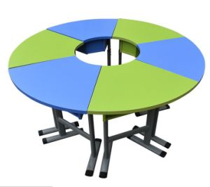 Children School Desk and Chair School Furniture Classroom Furniture for Library Desk pictures & photos
