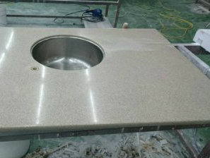 Acrylic Solid Surface Custom Sized Tabletops Countertops pictures & photos