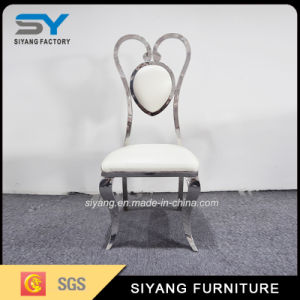 Dining Chair Furniture Metal Heart-Shaped Wedding Chair pictures & photos