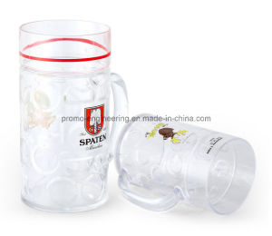 500ml Plastic Beer Stein with Customized Logo pictures & photos