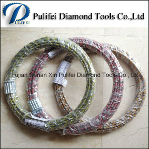 Granite Stone Quarry Diamond Wire Saw for Marble Slab Cutting Wire Saw Rope pictures & photos