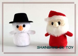 Novelty Christmas Promotion Santa Clause Snowman pictures & photos