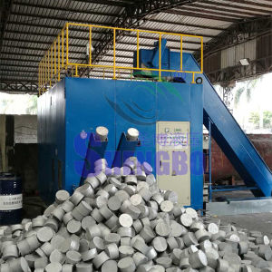 Scrap Aluminium Chips Powder Particles Horizontal Block Making Machine pictures & photos