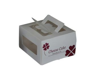 Custom Pretty Paper Cupcake Box Hard Paper Box pictures & photos