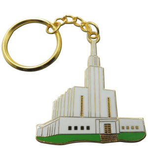 Promotional Metal Rotatable Key Chain with Print Logo pictures & photos