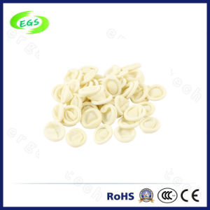 ESD Cream-Clored Finger Cots with Good Quality pictures & photos