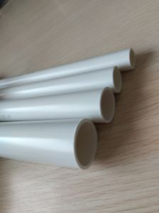 Flame Resistance PVC Pipe for Protection of Wire and Cable pictures & photos
