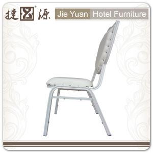 White Stackable Aluminum Restaurant Cafe Chair (JY-L43) pictures & photos