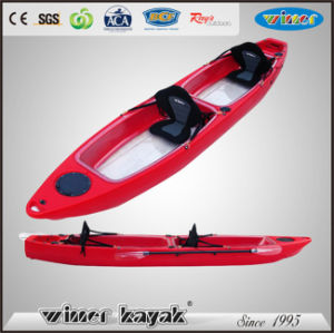 Double Seats Bottom Clear Transparent Kayak pictures & photos