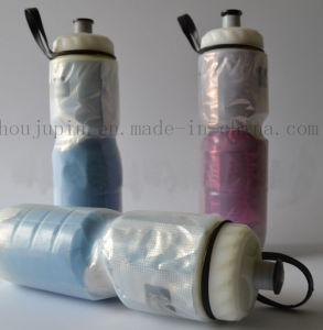 OEM Plastic Double Layer Sport Water Vacuum Bottle for Cycling pictures & photos