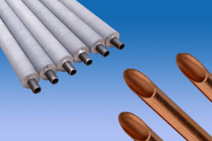 Aluminum and Copper Fin Tube for Heat Exchanger Accordion Pipe Corrugated Tube pictures & photos