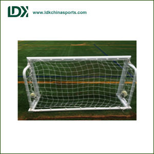 Foldable Portable Collapsible Mini Small Aluminum Soccer Goal  with Wheels pictures & photos