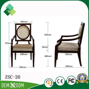 Neo-Chinese Style New Design Armchair for Dining Room (ZSC - 20) pictures & photos