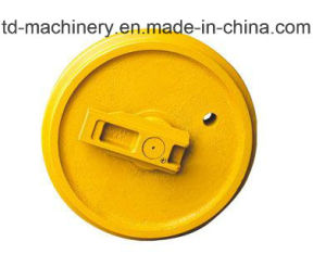 Customized Material for Guaide Roller or Front Idler Excavator Parts and Construct Heavy Equipment