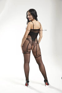 Ladies Sexy Fishnet Body Stocking with Crotchless Design 8880 pictures & photos