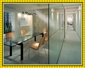 Frameless Exterior Sliding Doors Glass/Tempered/Toughened Large Panels Glass (clear glass/Low-e glass/borosilicate glass)