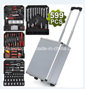 Factory Cheap 599PC Trolley Car Repair Tool Set pictures & photos