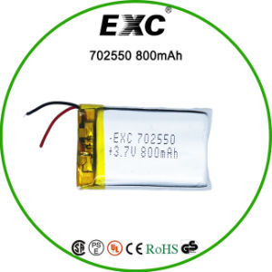 Lithium Polymer 702550 800mAh for Toy pictures & photos