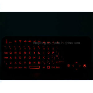 Mini Wireless Bluetooth Backlit Keyboard with Touchpad Keyboard for Laptop pictures & photos