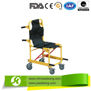Aluminium Alloy Wheelchair Folding Stretcher (CE/FDA/ISO) pictures & photos