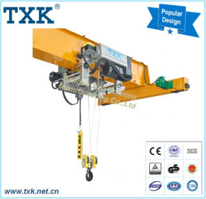 Txk 2 Ton to 12.5 Ton Single Girder Low Headroom Electric Wire Rope Hoist pictures & photos
