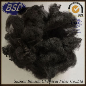 Geotextile Use Black High Tenacity Polyester Staple Fiber PSF pictures & photos