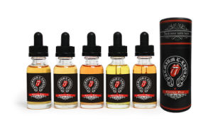 Unique Hot Sale Apple Flavor and Could OEM Designs Cylinder Packaging E Liquid for (E CIGS) pictures & photos