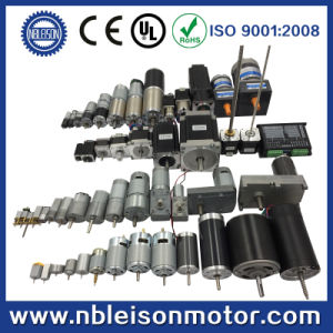 24V 10rpm 60rpm 300rpm 5n. M High Torque Geared DC Motor pictures & photos