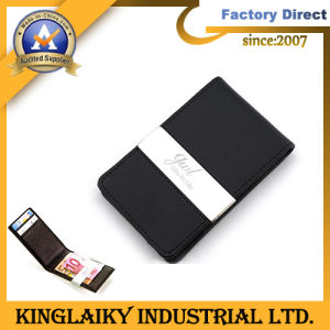 New Design Leather Men Wallet for Promotional Gift pictures & photos