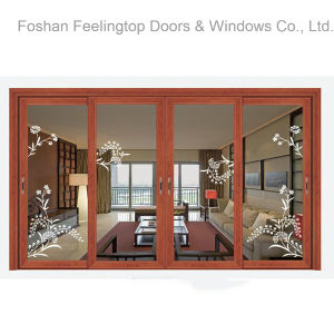 Commercial Double Glazed Thermal Break Aluminium Sliding Window (FT-W85) pictures & photos