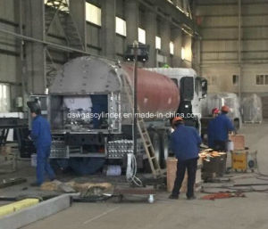Lox, Lin, Lar 14m3 Cryogenic Liquid Tanker pictures & photos