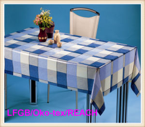 Fashion PVC Transparent Table Oilcloth/ Tablecloth Waterproof pictures & photos