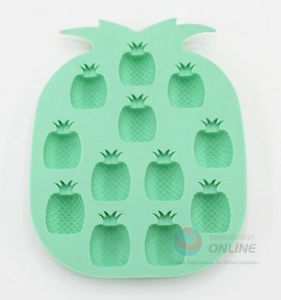 Pineapple Shape Silicone Cake Mould pictures & photos