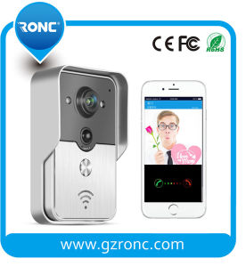 Real Time Video Talking Smart WiFi Security Video Doorbell pictures & photos