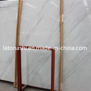 Polished Natural Ariston White Marble Stone Floor for Interior Decoration pictures & photos