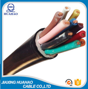 CCA Conductor PVC Insulated Flexible Cable (3X4.0mm2 4X4.0mm2) pictures & photos