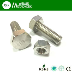 Ss304 Full Thread Hex Bolt pictures & photos