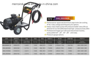 3600mA High Pressure Washer pictures & photos