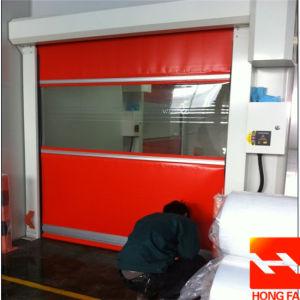 Cool Room/Food Factory High Speed Rolling up Door (HF-K214) pictures & photos