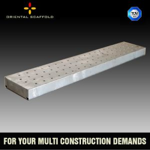 Construction Scaffolding Steel Planks with Hooks pictures & photos