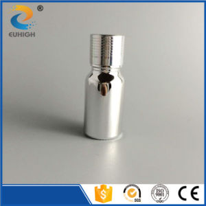 Shiny Silver Electroplating Essential Oil Glass Bottle