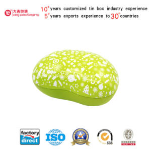 Bean-Shaped Custom Tin Box for Gift (B001-V16) pictures & photos