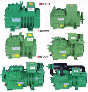 Resour Refrigeration Compressor, Semi-Hermtic Reciprocating Compressor, 50Hz / 60Hz, R22 / R134A / R404A pictures & photos