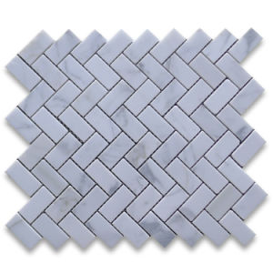Umbrella White Carrara Marble Mosaic for Floor Tiles pictures & photos