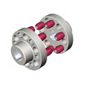 Hl/Hll Type Pin Coupling with Elastic Sleeve and Braking Wheel