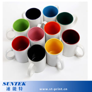 Sublimation Blank Inner Color Mug Suitable for Office Worker pictures & photos