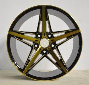 Aftermarket Alloy wheel with black machine face UFO-5047 pictures & photos